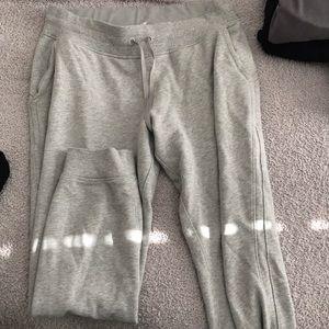 Lululemon gray jogger sweats